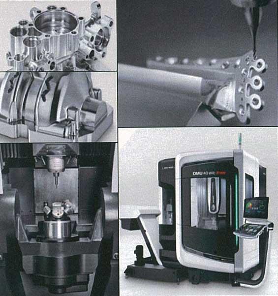 -Linear 5-axis machine-